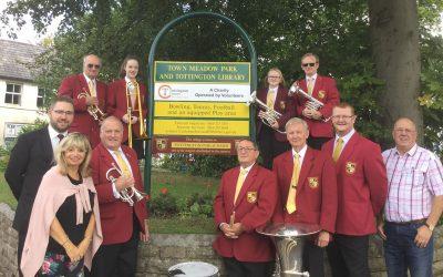 Tottington's Long-Standing Public Band Unveil Plaque